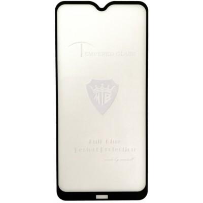 Купить оптом защитное стекло Full Glue Xiaomi Redmi 8/8A black тех упаковка опт