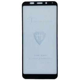 защитное стекло Full Glue Xiaomi Redmi Note 6 Pro black тех упаковка