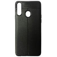 Силикон Auto Focus кожа Samsung A20s (A207) black