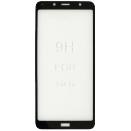 стекло 5D Strong for Xiaomi Redmi 7A black тех. пак.