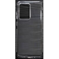 Силикон 0.5mm с заглушками+защита камеры Samsung S20 Ultra Clear