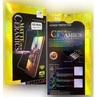 Защитное стекло Ceramic MATTE Samsung A01 (A015) Black Retail Box