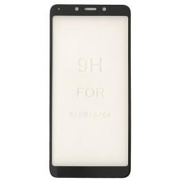 стекло 5D Strong for Xiaomi Redmi 6/6A black тех. пак.