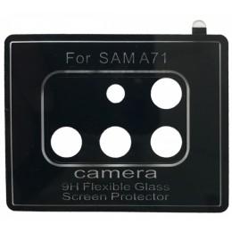 Защитное стекло Camera Samsung A715 Galaxy A71 (2020) clear