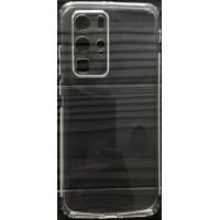 Силикон 0.5mm с заглушками+защита камеры Huawei P40.Pro Clear