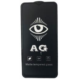 защитное стекло AG for Xiaomi Mi 10 Lite matte black тех упак.