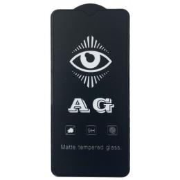 защитное стекло AG for Realme 5 Pro matte black тех упак.