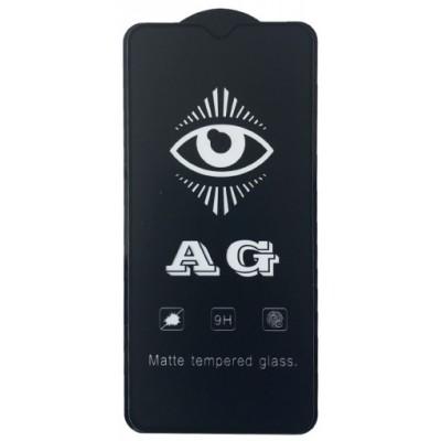 Купить оптом защитное стекло AG for Realme 5 Pro matte black тех упак. опт