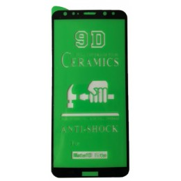 Защитное стекло CERAMIC Huawei Mate 10 Lite Black тех упаковка