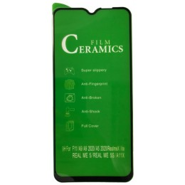 Защитное стекло CERAMIC Xiaomi Mi 10 Lite Black  тех упаковка