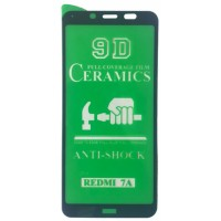 Защитное стекло CERAMIC Xiaomi redmi 7A Black тех упаковка