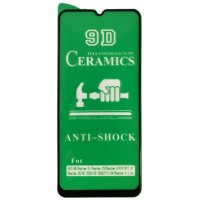 Защитное стекло CERAMIC OPPO A9 2020 Black тех упаковка