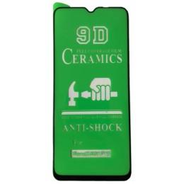 Защитное стекло CERAMIC OPPO Reno 3 Black тех упаковка