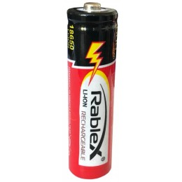 Аккумулятор Rablex 18650 Li-lon 1000 mAh (1/50/500)