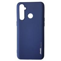 Силикон Smitt Realme 5 Pro blue