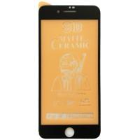 Защитное стекло Ceramic MATTE iPhone 7+/8+ Black тех упак