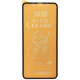 Защитное стекло Ceramic MATTE iPhone XS Max/11 Pro Max Black тех упак