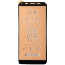 Защитное стекло Ceramic MATTE Huawei Y5P 2020 Black тех упаковка