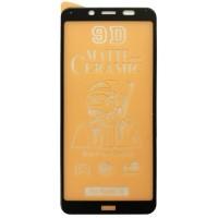 Защитное стекло Ceramic MATTE Xiaomi Redmi 7A Black тех упаковка