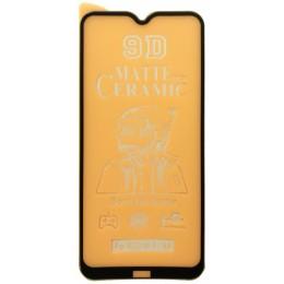Защитное стекло Ceramic MATTE Xiaomi Redmi 8/8A Black тех упаковка