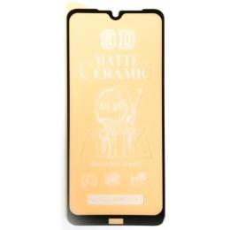 Защитное стекло Ceramic MATTE Xiaomi Redmi Note 8T Black тех упаковка