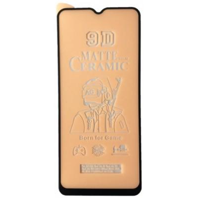 Купить оптом Защитное стекло Ceramic MATTE OPPO A5 2020 Black тех упак опт