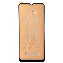 Защитное стекло Ceramic MATTE OPPO A9 2020 Black тех упак