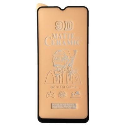 Купить оптом Защитное стекло Ceramic MATTE OPPO A9 2020 Black тех упак опт