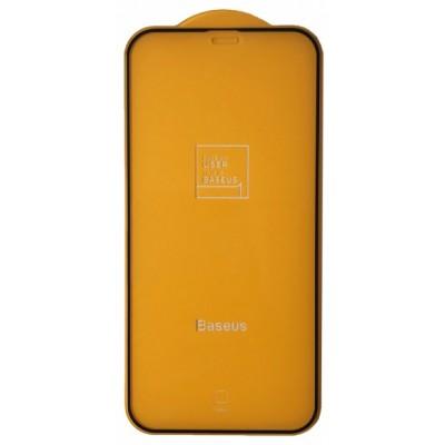 Купить оптом Baseus (SGAPIPH54N-KM01) 0.25mm Full-screen Frosted for iP 12 (5.4'') 2020 (2шт/упак) Black опт