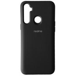 Silicone Case Full for Realme 6i Black