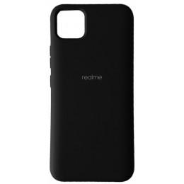 Silicone Case Full for Realme C11 Black