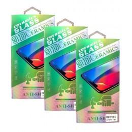 Защитное стекло CERAMIC Huawei P40 Lite/P40 Lite E/Y7P Black Retail Box