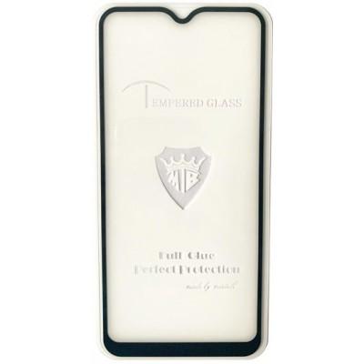 Купить оптом защитное стекло Full Glue Vivo Y11 black тех упаковка опт
