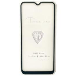 защитное стекло Full Glue Vivo Y15 black тех упаковка