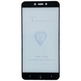 защитное стекло Full Glue Xiaomi Redmi 4A black тех упаковка