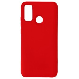 GRAND Full Silicone Cover for Huawei P Smart 2020 red