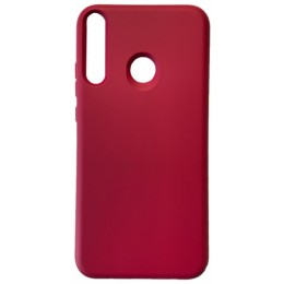 GRAND Full Silicone Cover for Huawei P40 Lite e / Y7p hot pink
