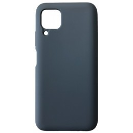 GRAND Full Silicone Cover for Huawei P40 Lite navy blue