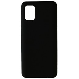 GRAND Full Silicone Cover for Samsung A41 (A415) black