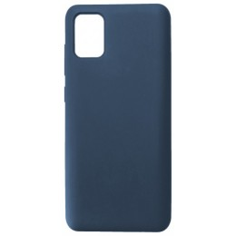 GRAND Full Silicone Cover for Samsung A41 (A415) navy blue