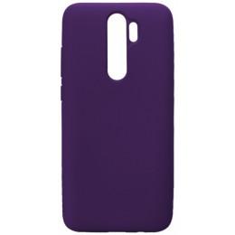 GRAND Full Silicone Cover for Xiaomi Redmi 8A purple