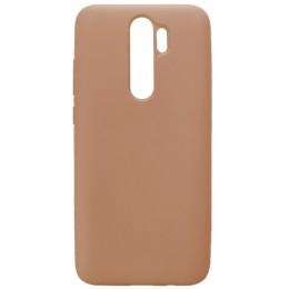 GRAND Full Silicone Cover for Xiaomi Redmi Note 8 pink sand