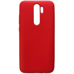 GRAND Full Silicone Cover for Xiaomi Redmi Note 8 red