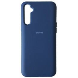 Silicone Case Full for Realme 6 Navy blue