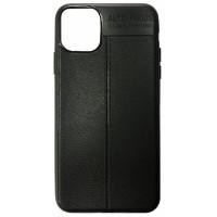 Силикон Auto Focus кожа iPhone 11 Pro Max black