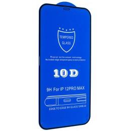 Защитное стекло 10D for iPhone 12 PRO MAX (6,7