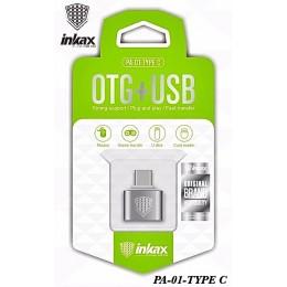 Переходник OTG INKAX PA-01 USB - Type-C