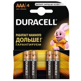 Батарейки DURACELL LR03 MN2400 1x4 цена за 1 батарейку