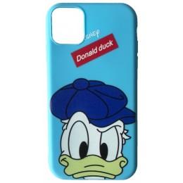 Чехол JOY for iPhone 7/8 DONALD DUCK Blue