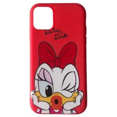 Купить оптом Чехол JOY for iPhone XS Max DASY DUCK Red опт